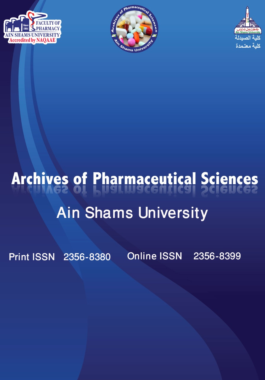 Archives of Pharmaceutical Sciences Ain Shams University